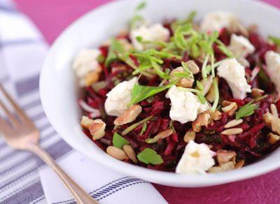 Beetroot & feta salad