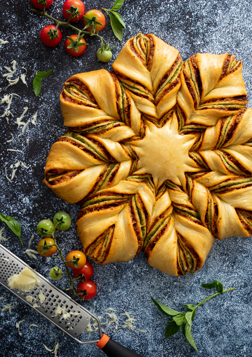 Italian star bread