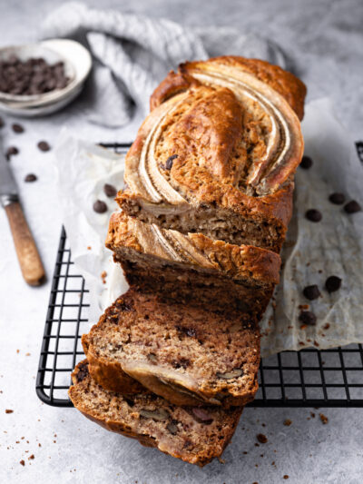 My best ever banana bread with ricotta